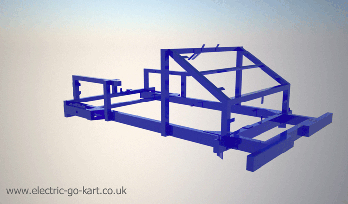 rendering of frame