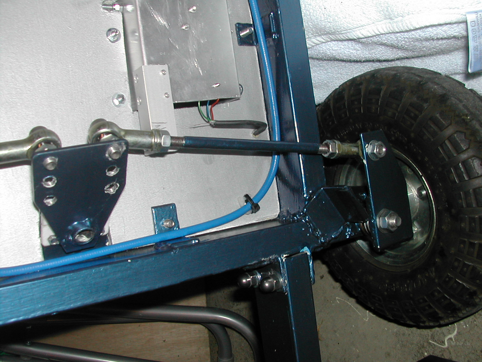this view the wiring layout for the lighting and motor control ...