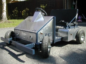 electric kart front view